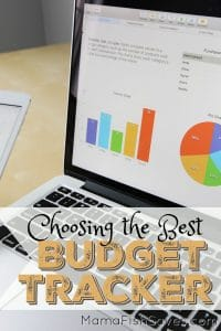 Choosing a budget tracker