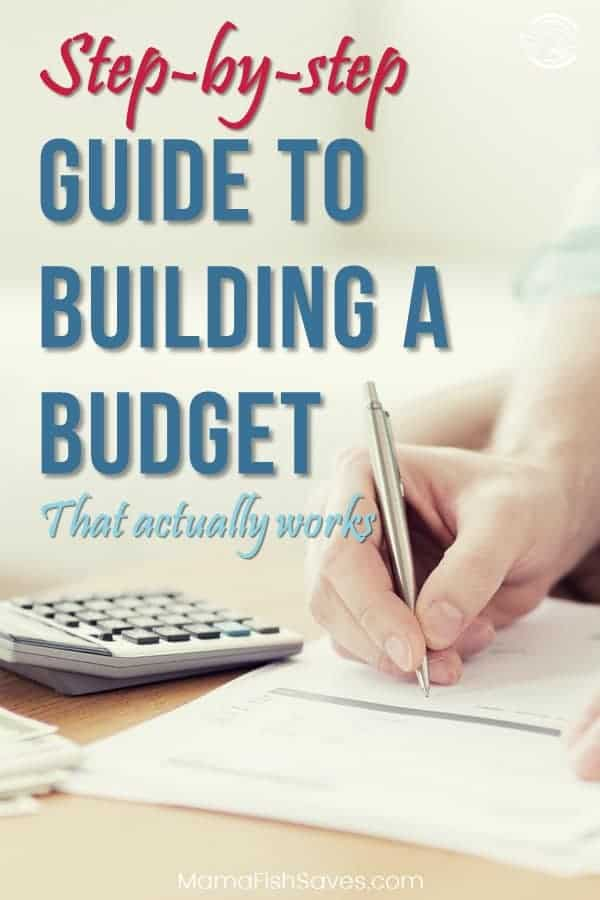 Complete guide to creating a budget