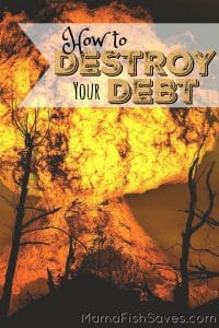 How to destroy your debt and get financially free