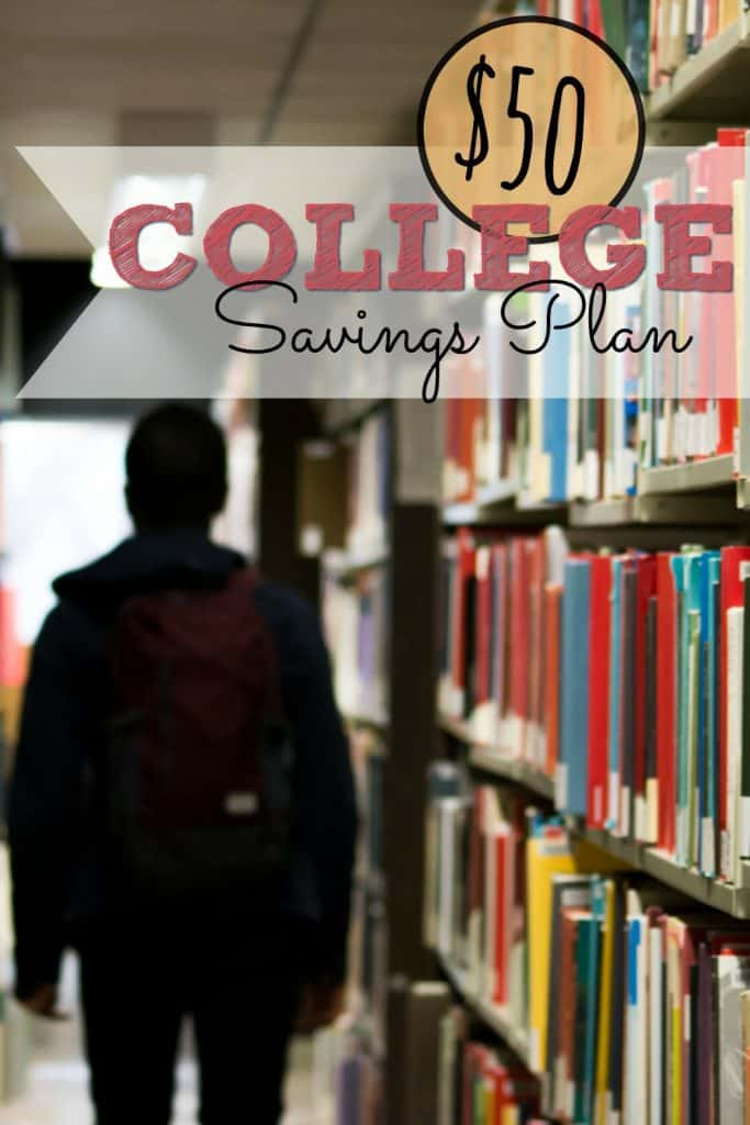How to save for college, $50 at a time