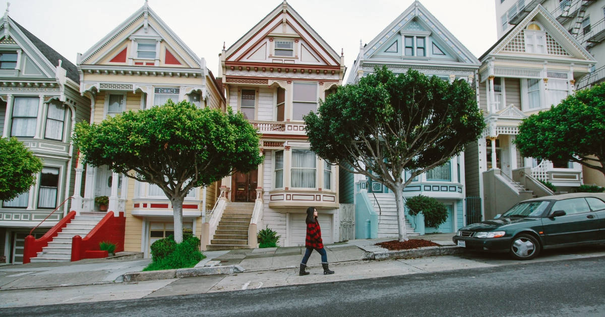 rental houses side by side