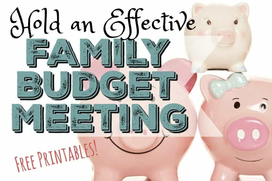 How to Hold an Effective Family Budget Meeting