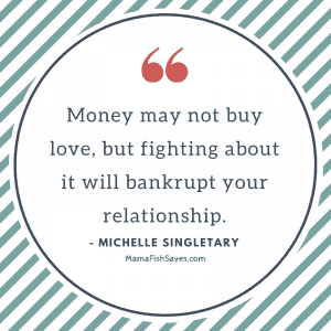 Money may not buy you love but fighting about it will bankrupt your relationship
