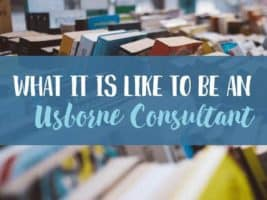 An inside scoop on what it's like to be an Usborne consultant!