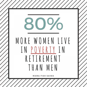 80% more women live in poverty in retirement than men