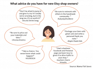 Advice Etsy shop owners have for new potential shop owners