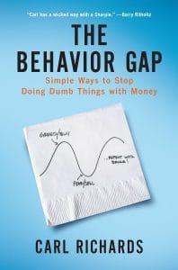 The Behavior Gap - Carl Richards - Amazon image