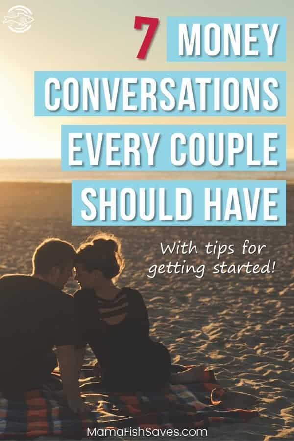 Most important money conversations to have with your partner