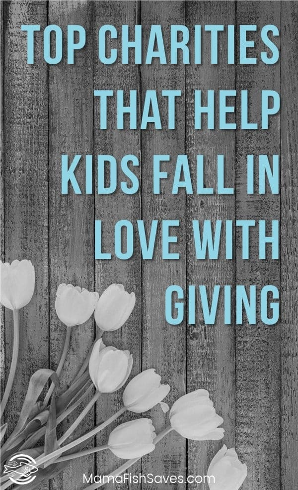 Charities that help kids get involved with giving