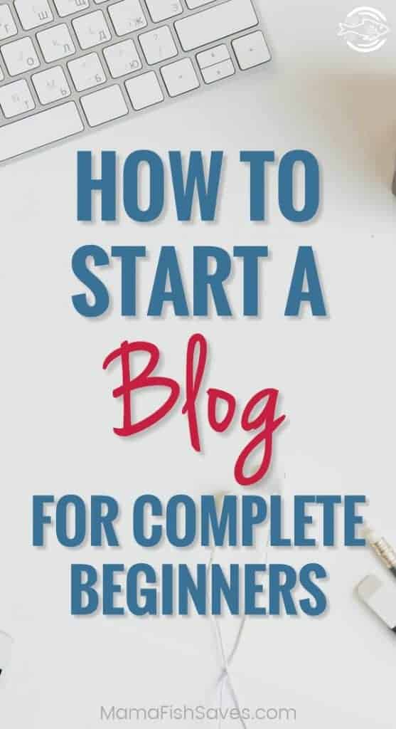 Step-by-step guide to starting a blog