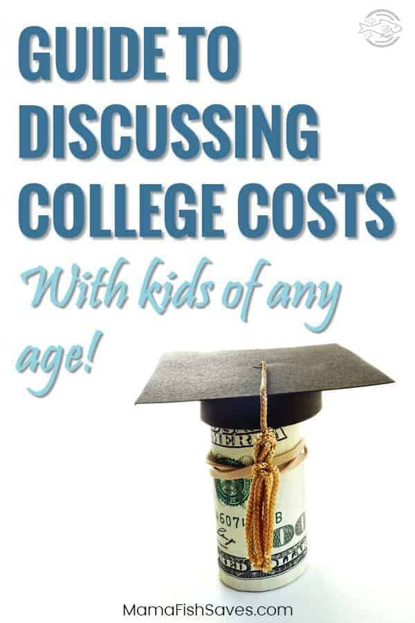 How to talk to kids of all ages about the real cost of college