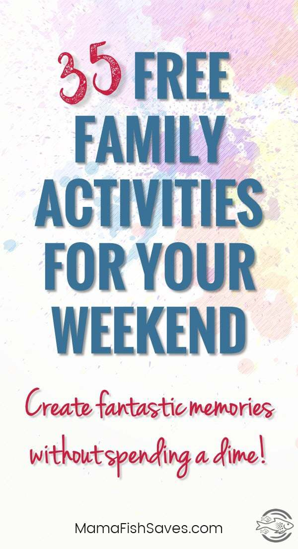 Best activities to have fun as a family without spending money