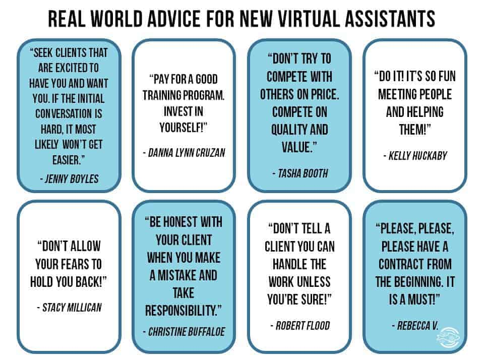 Advice from VAs for others who want to become a virtual assistant