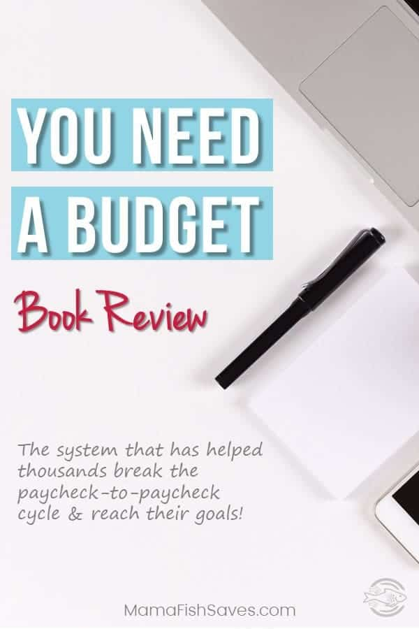 Detailed book review of You Need A Budget outlining system to conquer budgeting once and for all