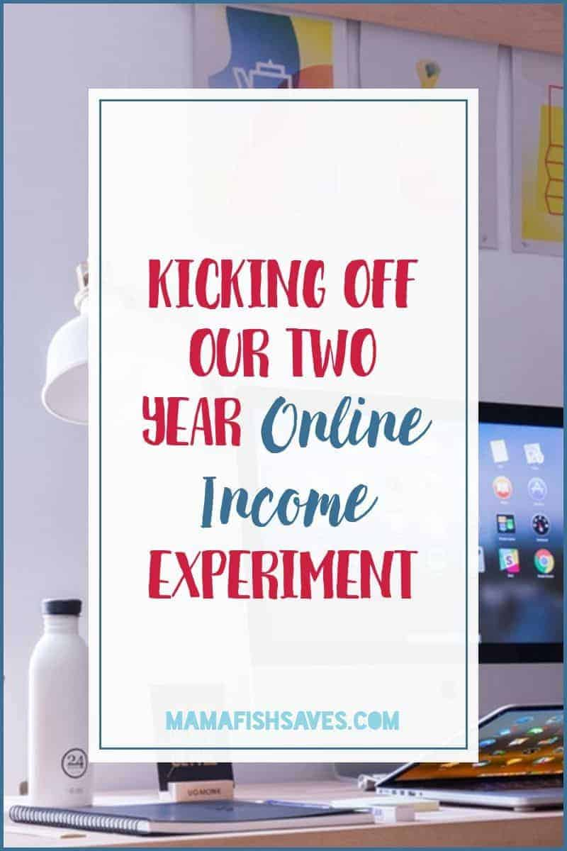Our journey to create an online income in two years or less