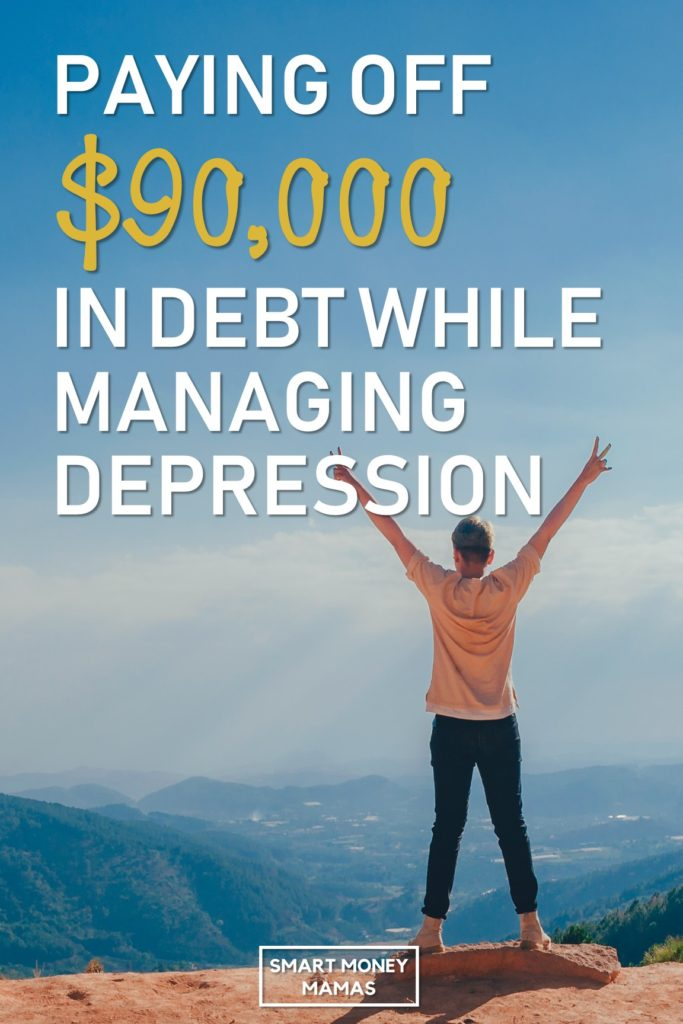 Paying Off $90,000 in Debt While Managing Depression