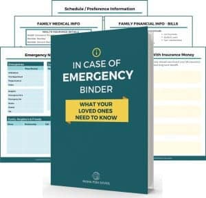 The In Case of Emergency Binder Workbook