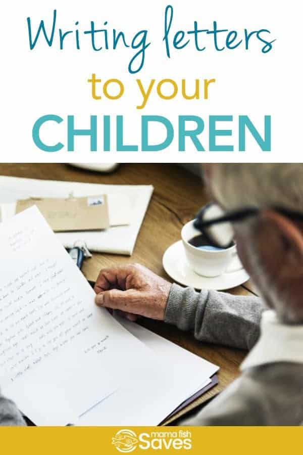 Writing Emotional Letters to Your Kids