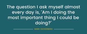 Mark Zuckerberg quote