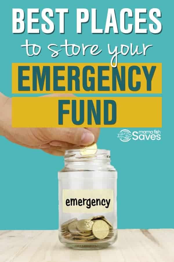 best place to save an emergency fund