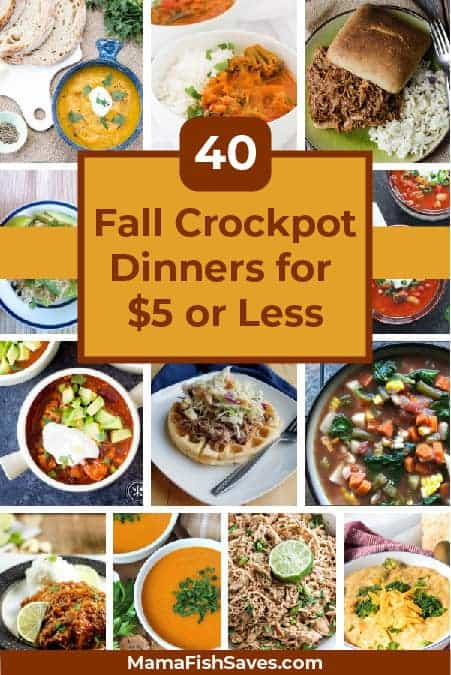 Best fall crockpot dinners