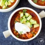Butternut Squash Turkey Chili - Hungry Hobby