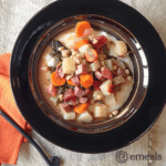 Ham, Kale and Navy Bean Stew