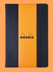 Rhodia Black Webnotebook