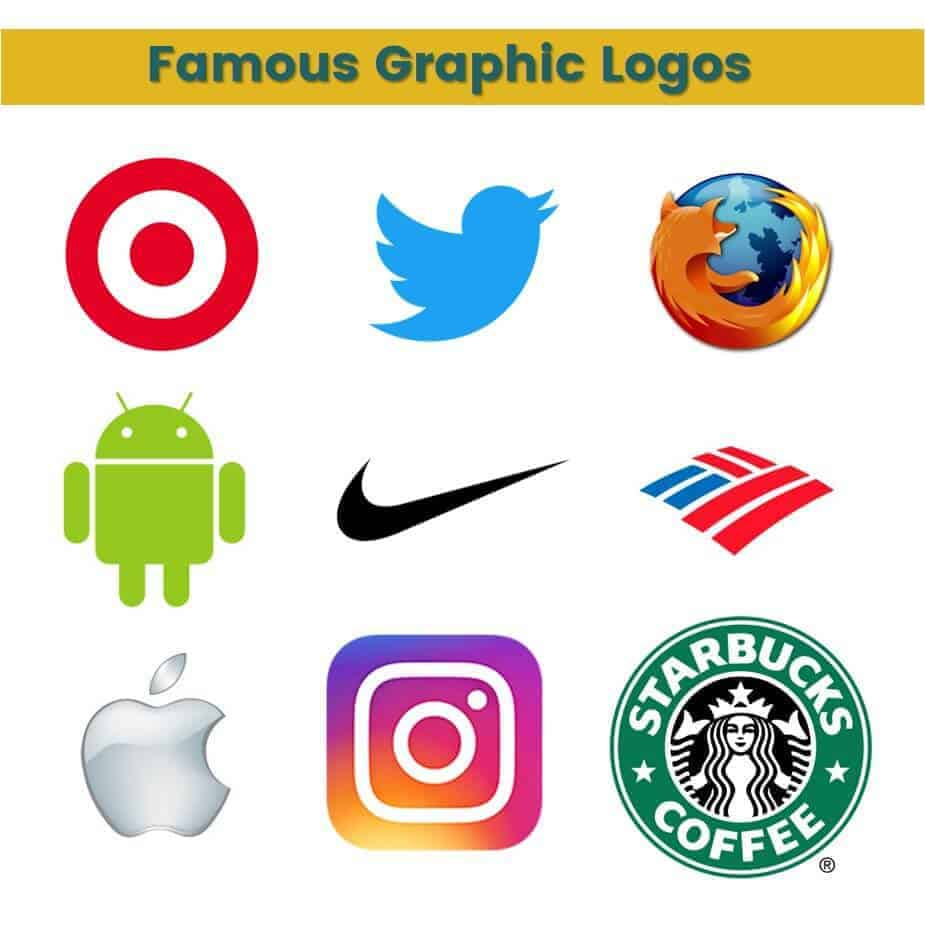 Famous graphic logos