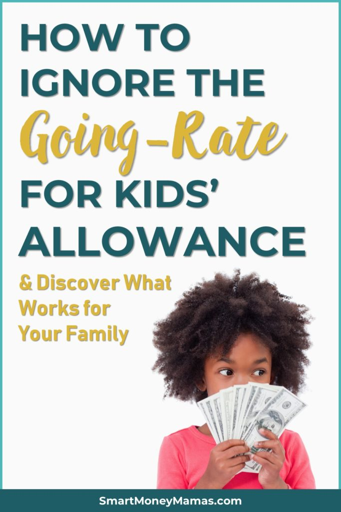 How to Ignore the Going-Rate for Kids' Allowance