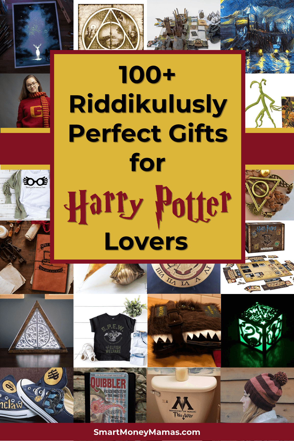 This list is amazing! Best Harry Potter gifts for any witch or wizard | Harry Potter birthday gifts, Christmas gifts, or wedding gifts #harrypotter #giftguide #wizard #hogwarts