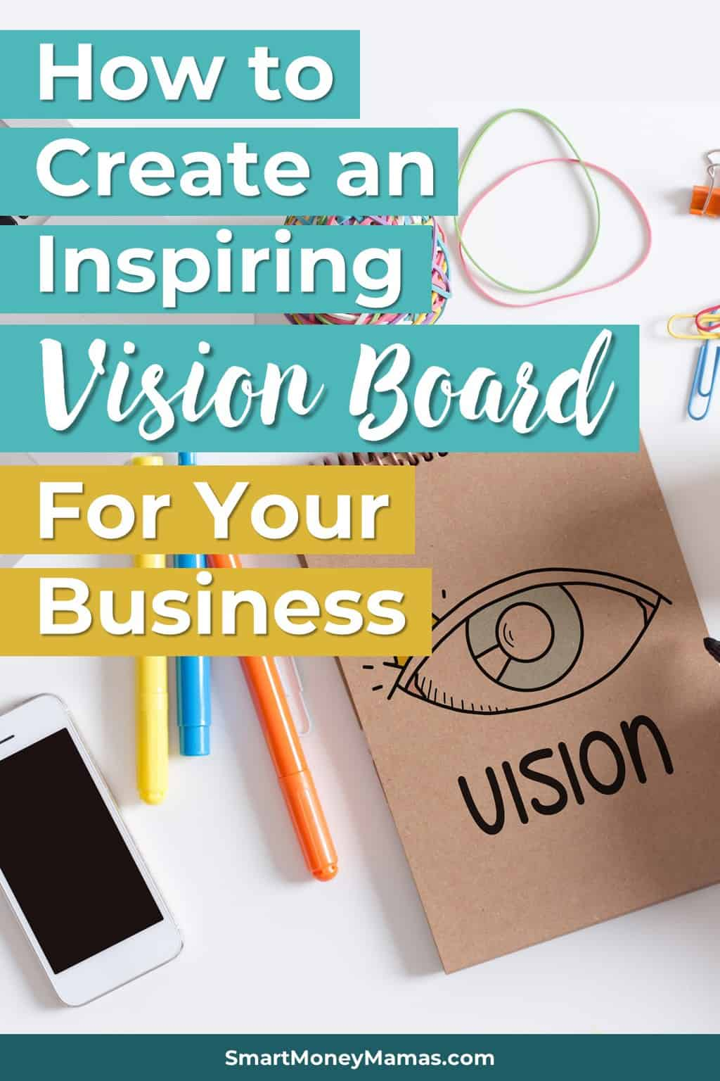 This is such a good idea! I\'ve made vision boards for my personal goals but never one for my business. I am going to make one tonight :) #entrepreneur #workathome #solopreneur #visionboard #businessgoals #goals