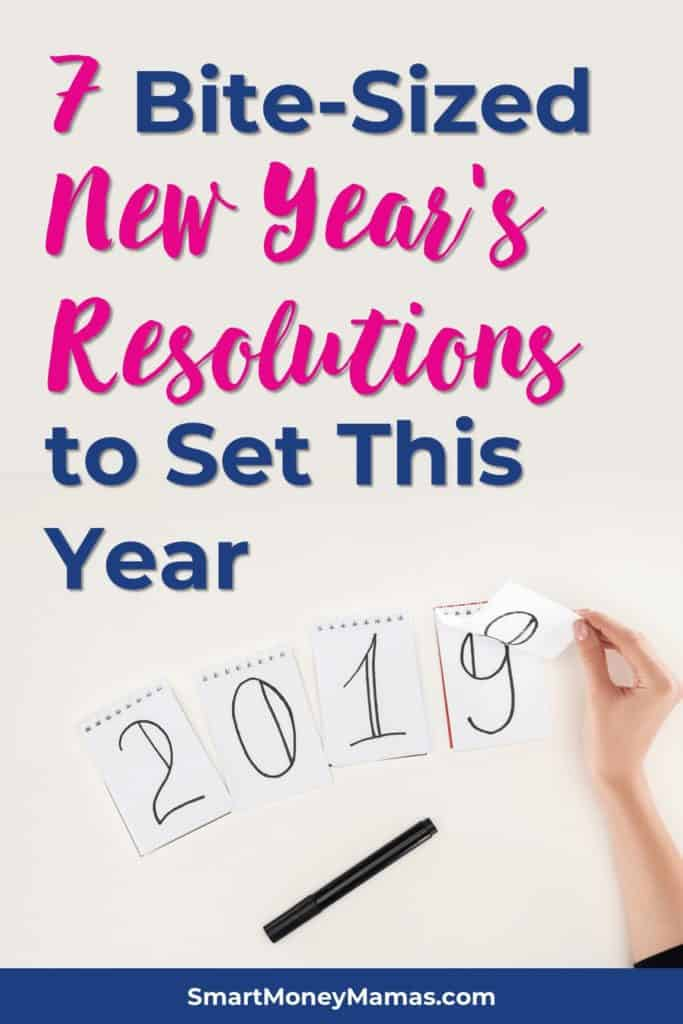 7 Bite-Sized New Year's Resolutions to Set This Year