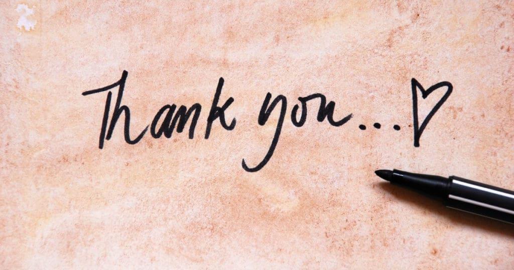Practice more gratitude in 2019