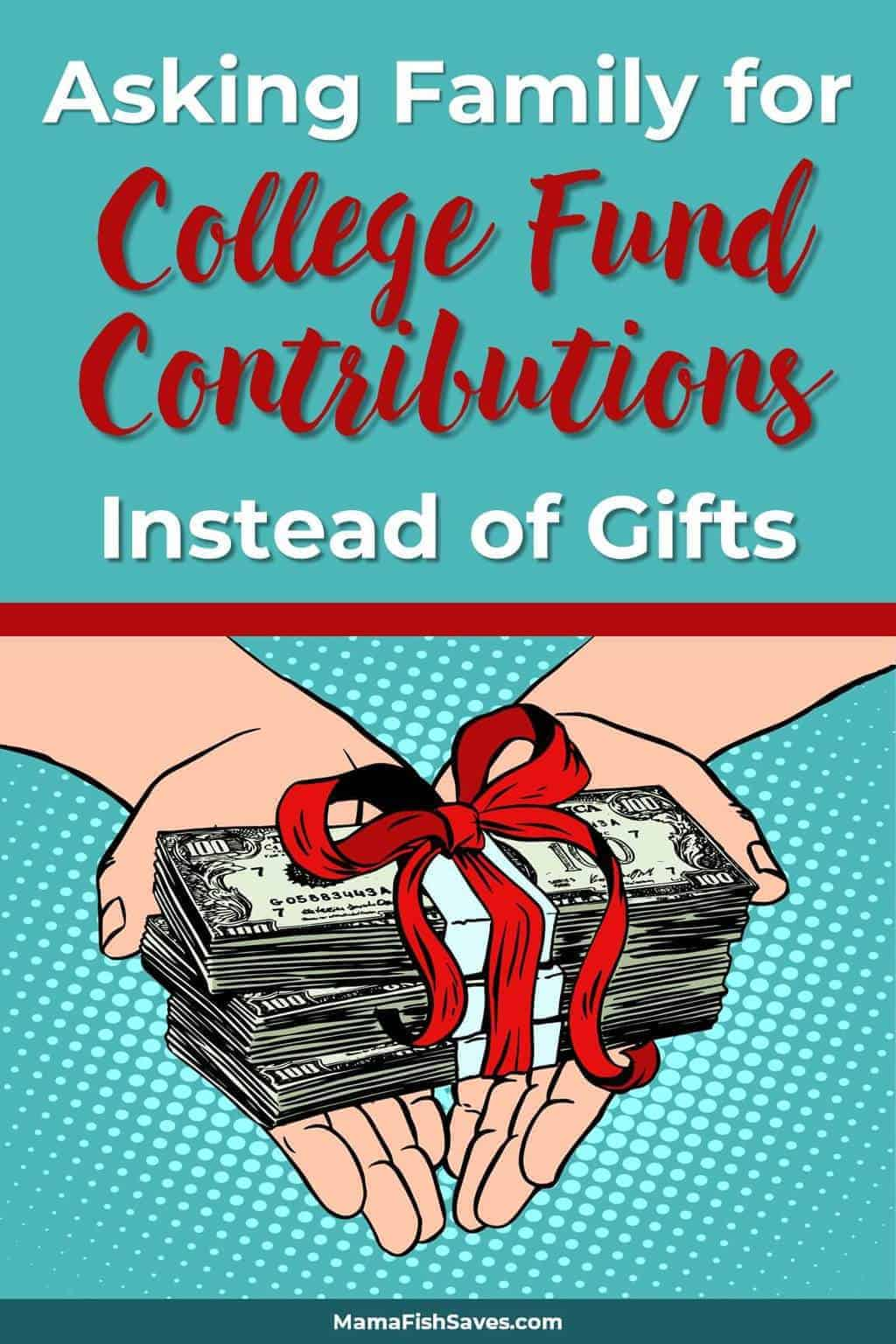 I need to get my parents on board to stop with all the gifts and contribute to the kids\' 529 plans instead. We are working so hard to save for college and we don\'t need any more stuff! #giftideas #collegesavings #529plans #college