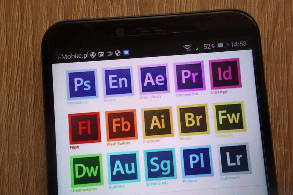 Adobe Creative Suite applications