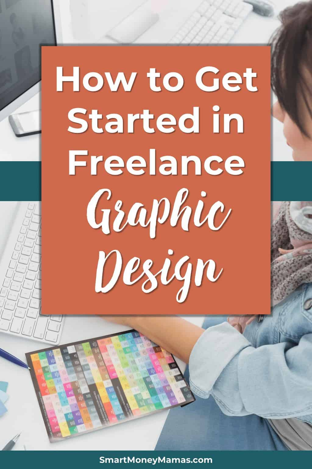 I\'ve really wanted to make money doing freelance graphic design but didn\'t think I could do it without a degree! Now I\'m excited to get started with my own little side business. #graphicdesign #design #freelancing #freelancelife #mompreneur #makemoney #smartmoneymamas