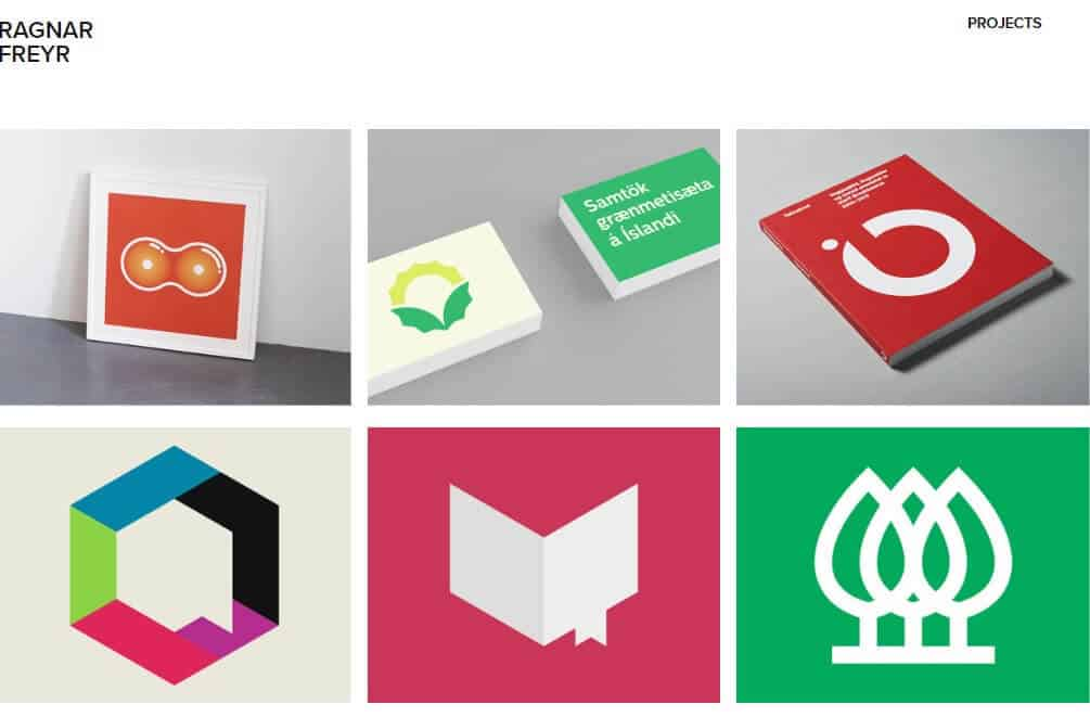 Sample Adobe Portfolio website to feature your work