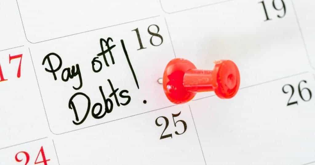 Set a debt free date