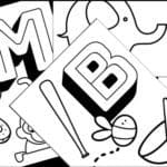 Free alphabet coloring printables