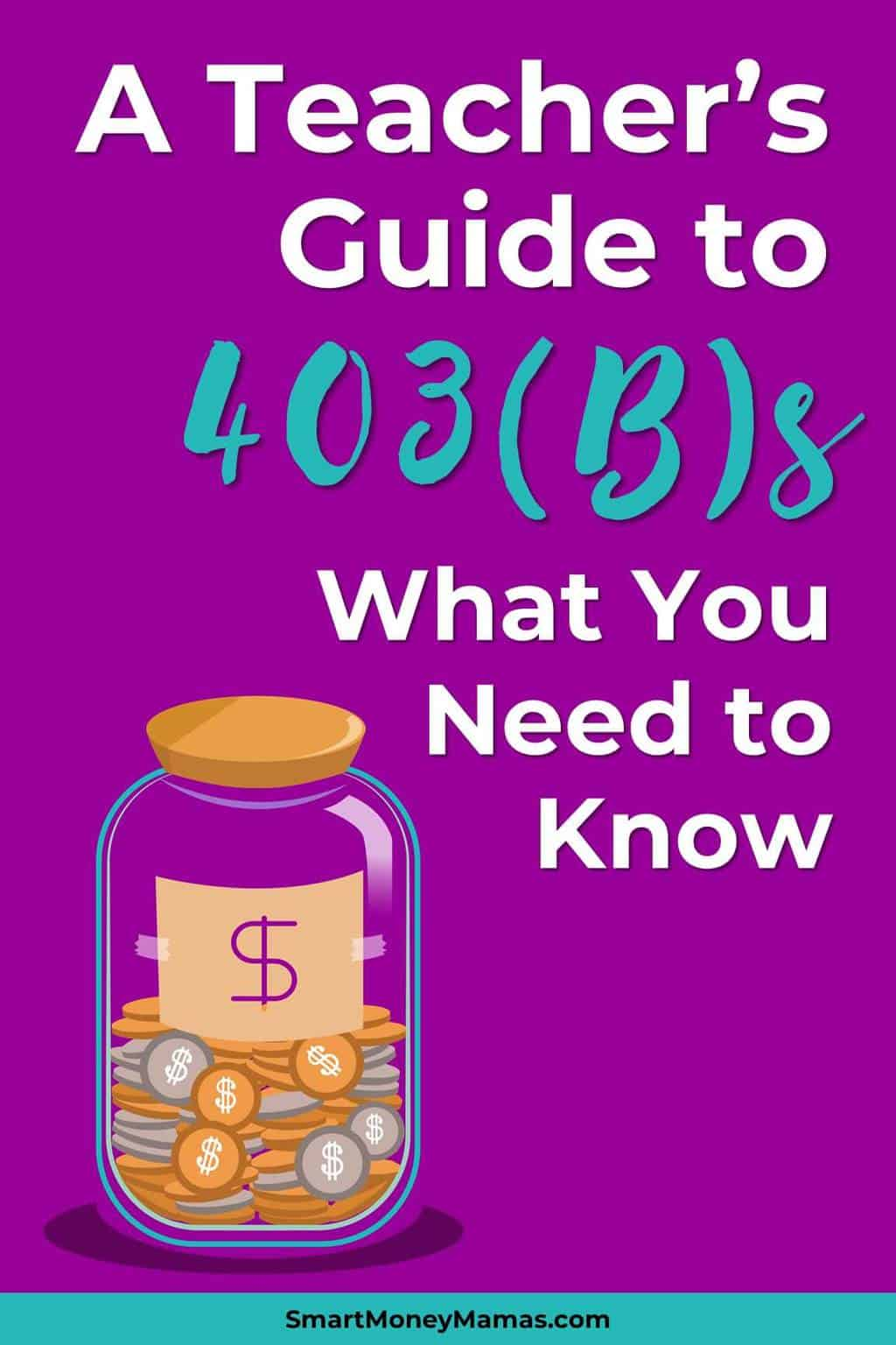 This was so helpful! I contribute to my 403(b), but I signed up when I first started at my school and never really understood how 403(b)s actually worked. Going to look at how much I\'m contributing and what my fees are later today. So important! #teachers #retirement #investing #smartmoneymamas