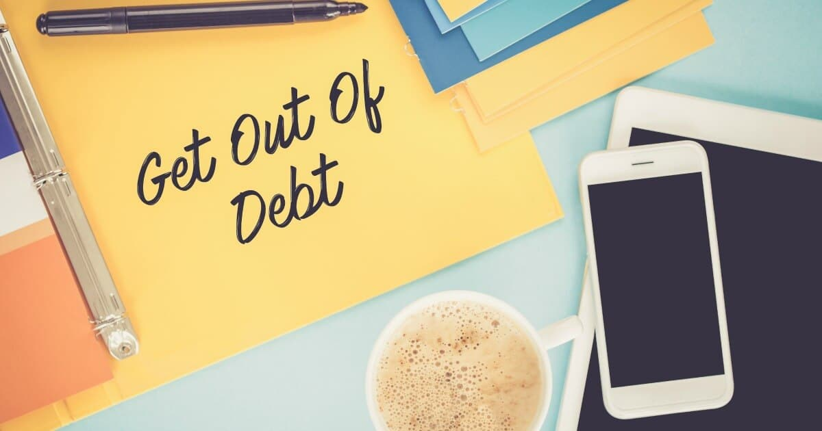 Signing up for a debt management program