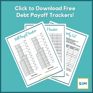 Free Debt Payoff Trackers - PDF Download
