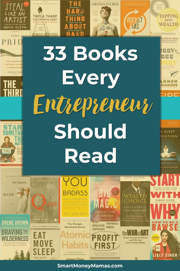 33 Books Every Entrepreneurs Should Read