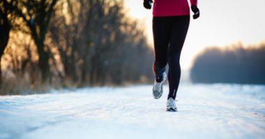 Woman exercising to help fight seasonal depression