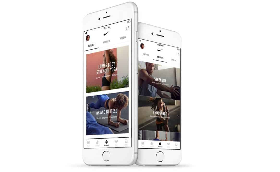 The Nike Training Club app has over 185 free workouts