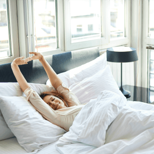 Wake up early to make time for self care