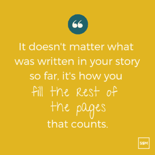 it doesn't matter what was written in your story so far. It is how you fill the rest of the pages that count.