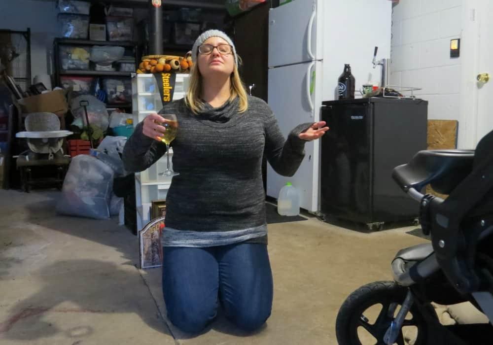 Greeting the garage like Marie Kondo