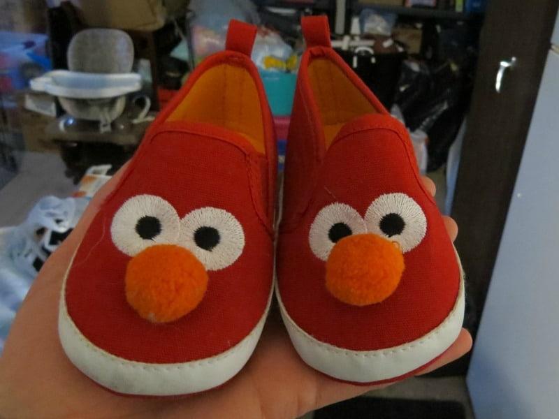Outgrown Elmo baby shoes